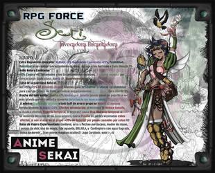 Seka-05-Seti -Summoner Enchanter (FanArt XD) by MargGram