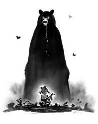 Evil Bear by AlexanderCasteels
