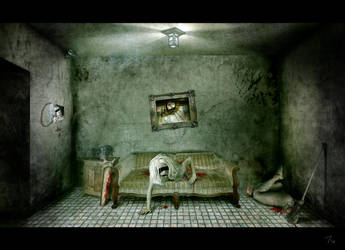 room of a serial killer by AlexanderCasteels
