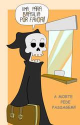 A morte pede passagem by drakonos85