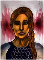 Katniss Everdeen... sort of by svenskalovenska