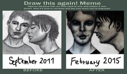 Draw This Again meme by svenskalovenska