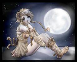 In The Moonlight by Yunaleskaa