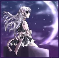 In the moonlight 2 by Yunaleskaa