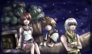 Kingdom Hearts by Yunaleskaa