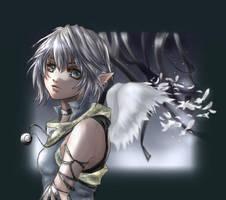 Fallen wings by Yunaleskaa