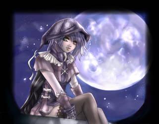 In the moonlight 3 O_o by Yunaleskaa