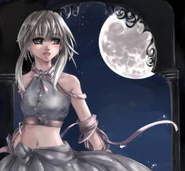 Moongirl -_- by Yunaleskaa