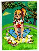 Anzu (Redone) by HoneyPlease