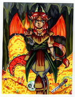 Dragon Girls Den by HoneyPlease