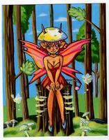 The Mushroom Imp by HoneyPlease