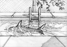 Childhood Fear (sketch) by HoneyPlease