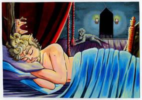 Kingly Slumber by HoneyPlease
