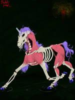 Skinless Unicorn by Amaya38