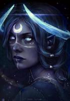 Moon godlike by AnnaHelme