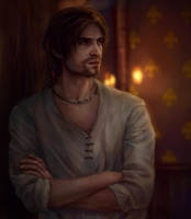 Happy b-day Ezio by AnnaHelme