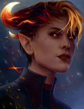 Fire Godlike by AnnaHelme
