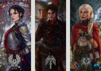 dragon age characters by AnnaHelme