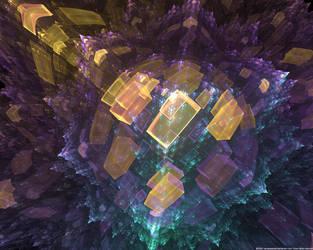 Crystal Explosion by mynameishalo