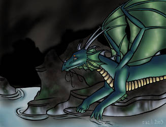 Lyszeth the Dragon by tazl