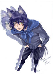 The Mischievous Wolf by Ferenand