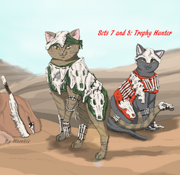 Feral Sets 7 and 8 Trophy Hunters by Iyna08