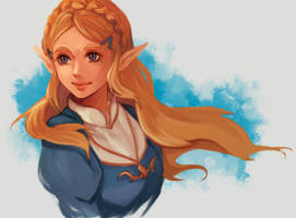 Princess Zelda by Mishhe-KHT