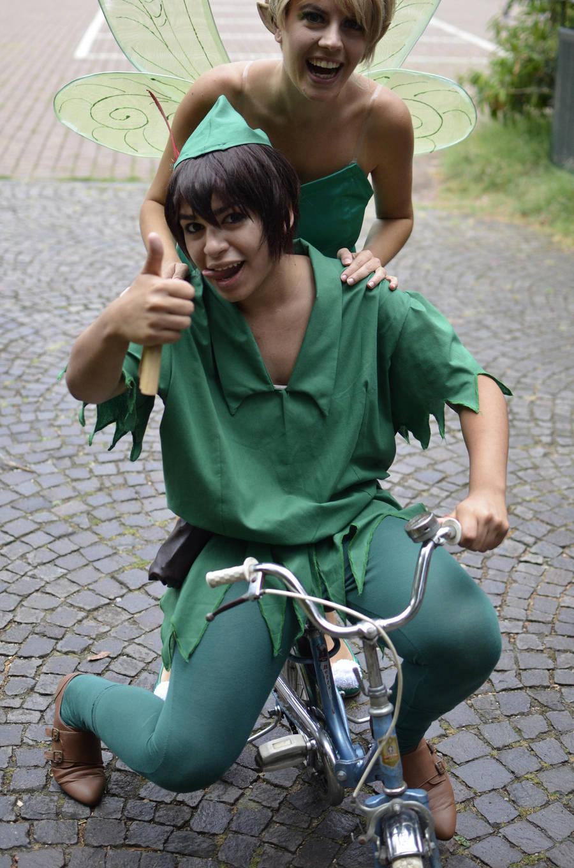 Peter Pan - Mah magic bike 2 by AxelTakahashiVIII