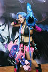 Jinx Cosplay League of Legends Costume by AxelTakahashiVIII