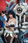 Nidalee and Rengar Cosplay League Of Legends by AxelTakahashiVIII