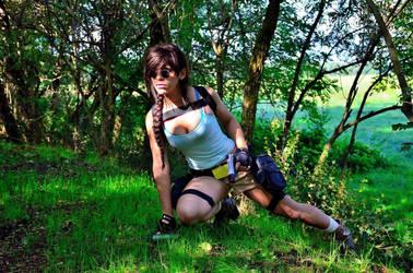Lara Croft Cosplay by AxelTakahashiVIII