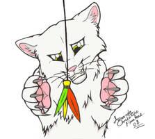 Kitteh... by FallenAngelWolf13