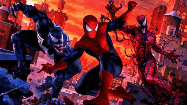 Spider-Man and Venom Maximum Carnage by BETACRYSTAL