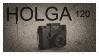 HOLGA 120 Stamp by RowennaCox