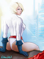 Power Girl 02 by nbeaulieudrolet
