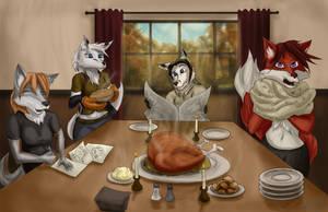 Foxgivingday by Johny-Fox