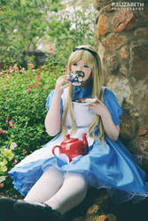 Alice in Wonderland: Tea in the Gardens by AlicesRainbow