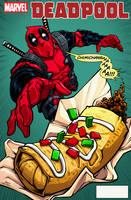 Deadpool Cover by dwaynebiddixart