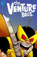 Venture Bros Cover by dwaynebiddixart