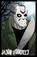Jason by dwaynebiddixart