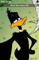 Daffy by dwaynebiddixart