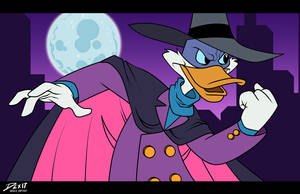 Darkwing by dwaynebiddixart