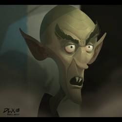 Nosferatu by dwaynebiddixart