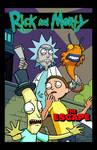 Rick and Morty by dwaynebiddixart