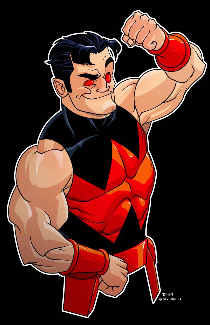 Wonder Man by dwaynebiddixart