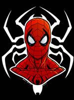 Spidery by dwaynebiddixart