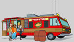 The Hip-Stir Food RV by dwaynebiddixart
