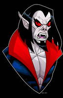 Morbius by dwaynebiddixart