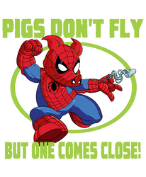Spider-Ham by dwaynebiddixart