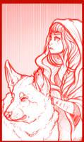 Wolf in sheeps clothing by SpiritElk